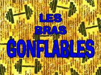 Musclebob Buffpants  -  Les bras gonflables