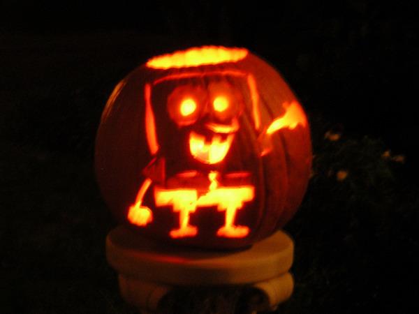 Bob l 39 ponge carr photos citrouille d 39 halloween bob l - Bob l eponge halloween ...